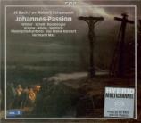BACH - Max - Passion selon St Jean BWV 245 : version Robert Schumann version de Robert Schumann 1851