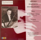 SCHUMANN - Michelangeli - Concerto pour piano et orchestre en la mineur