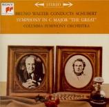 SCHUBERT - Walter - Symphonie n°9 en do majeur D.944