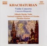 KHATCHATURIAN - Martin - Concerto pour violon et orchestre en ré mineur