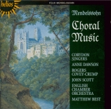 MENDELSSOHN-BARTHOLDY - Best - Oeuvres chorales