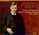 GLAZUNOV - Weller - Concerto pour piano n°1 op.92