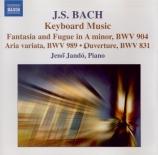 BACH - Jando - Fantaisie chromatique et fugue pour clavier BWV 903
