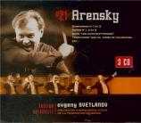 ARENSKY - Svetlanov - Symphonie n°1 op.4
