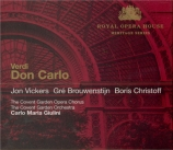 VERDI - Giulini - Don Carlo, opéra (version italienne) + conversation with Lord Harewood
