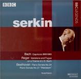 BACH - Serkin - Capriccio pour clavier en mi majeur BWV.993