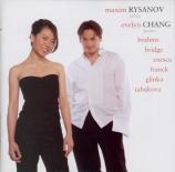 GLINKA - Rysanov - Sonate pour alto et piano en ré mineur