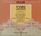 VERDI - Votto - Ernani, opéra en quatre actes live Scala di Milano, 1969