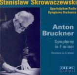 BRUCKNER - Skrowaczewski - Symphonie n°00 en fa mineur WAB 99