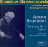 BRUCKNER - Skrowaczewski - Symphonie n°0 en ré mineur WAB 100