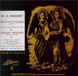 MOZART - Hinreiner - Missa solemnis en do majeur, pour solistes, chœur