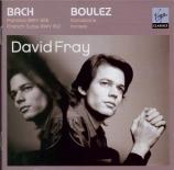 BACH - Fray - Partita pour clavier n°4 en ré majeur BWV.828