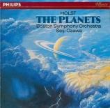 HOLST - Ozawa - The Planets (Les planètes), pour orchestre op.32