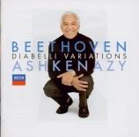 BEETHOVEN - Ashkenazy - Variations Diabelli, trente-trois variations pou