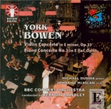 BOWEN - Handley - Concerto pour violon op.33
