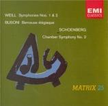 WEILL - Bertini - Symphonie n°1