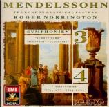 MENDELSSOHN-BARTHOLDY - Norrington - Symphonie n°3 en la mineur op.56 'S
