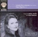Mahler, Haendel, Lieberson, Brahms
