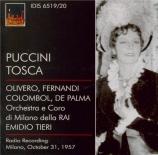 PUCCINI - Tieri - Tosca (Live RAI Milano 31 - 10 - 1957) Live RAI Milano 31 - 10 - 1957