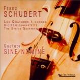 SCHUBERT - Sine Nomine Qua - Quatuor à cordes n°13 en la mineur op.29 D