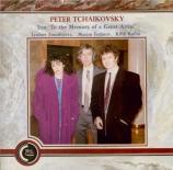 TCHAIKOVSKY - Rodin - Trio avec piano op.50