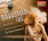JANACEK - Mackerras - Vec Makropulos (L'affaire Makropoulos) in english