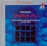 BRUCKNER - Inbal - Symphonie n°3 en ré mineur WAB 103