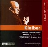 WEBER - Kleiber - Euryanthe : ouverture