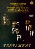 BRITTEN - Amadeus Quartet - Quatuor à cordes n°3 en sol majeur op.94