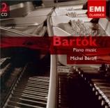 BARTOK - Béroff - Magyar parasztdalok, quinze chansons paysannes hongroi