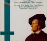 WAGNER - Knappertsbusch - Die Meistersinger von Nürnberg (Les maîtres ch live Bayreuth 1952