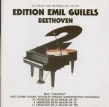 BEETHOVEN - Gilels - Trio avec piano op.97 'L'archiduc' Vol.2 Beethoven