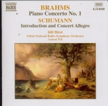 BRAHMS - Wit - Concerto pour piano et orchestre n°1 en ré mineur op.15