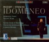 MOZART - Rovaris - Idomeneo, rè di Creta (Idoménée, roi de Crète), opéra Révision de Richard Strauss