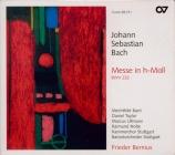 BACH - Bernius - Messe en si mineur, pour solistes, chœur et orchestre B