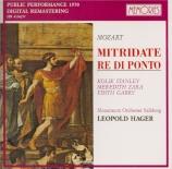 MOZART - Hager - Mitridate, rè di Ponto (Mithridate), opéra seria en tro live Salzburg 31 - 01 - 1970
