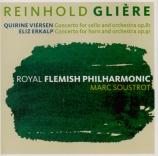 GLIERE - Soustrot - Concerto pour violoncelle op.81