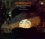 KORNGOLD - Flesch Quartet - Quatuor à cordes n°1 op.16