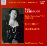 Lieder Recordings Vol.5