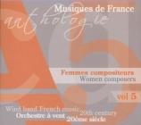 Anthologie des Musiques originales pour orchestre à vent au 20ème siècle