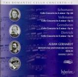 VOLKMANN - Gerhardt - Concerto pour violoncelle op.33