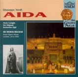 VERDI - Beecham - Aida, opéra en quatre actes
