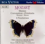 MOZART - Gillesberger - Messe en do majeur, pour solistes, chœur, orgue