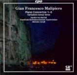MALIPIERO - Bartoli - Concertos pour piano (intégrale)