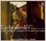 BRAHMS - Petersen - Achtzehn Liebeslieder-Walzer, dix-huit valses pour q