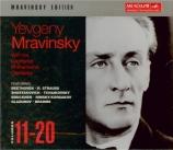 Edition Mravinsky Vol.11 à Vol.20