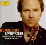 MENDELSSOHN-BARTHOLDY - Hope - Concerto pour violon et orchestre en mi m