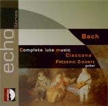 Intégrale de la Musique pour luth - Ciaccona