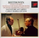 BEETHOVEN - Accardo - Concerto pour violon en ré majeur op.61