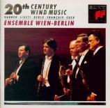 FRANCAIX - Ensemble Wien-B - Quintette à vents n°1